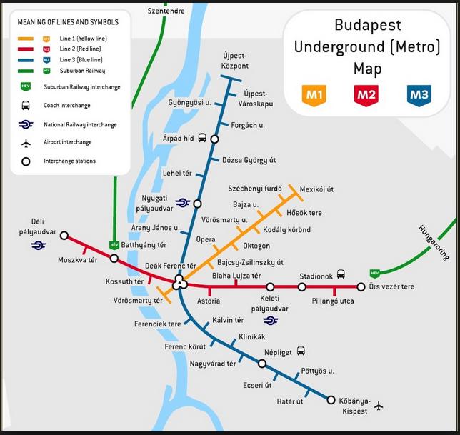 Dentalreisen nach Ungarn Stadtkarte