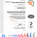 ISO Certificate Helvetic Clinics